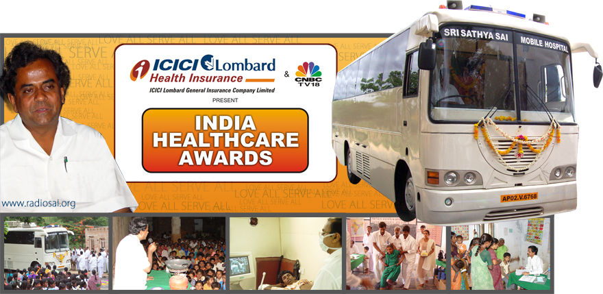 Sri Sathya Sai Mobile Hospital Wins CNBC-TV18 Healthcare Award
