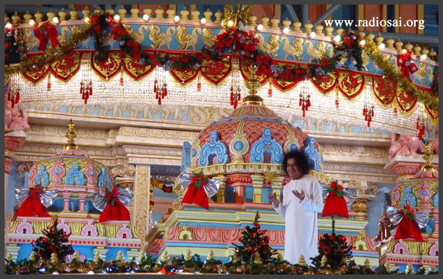 Navidad en Prashanti Nilayam