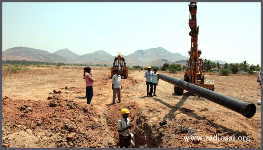anantapur proyecto de agua Sathya Sai