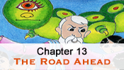 His Story 13 - Pictorial Presentation of Bhagawan sri sathya sai baba's childhood - (The Road Ahead)